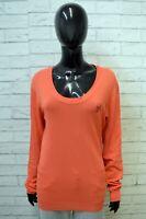 Maglione Donna Guess Taglia L Cardigan Maglia Felpa Sweater Pullover Woman