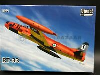 Sword 1/72 RT-33 (SW72113) - USAF / French AF/Italian AF & Royal Netherlands AF