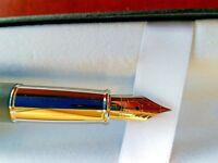 Sheaffer Matte Gray Fountain Pen Fine Nib 100% Authentic