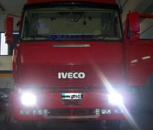 KIT XENON CAMION DAF SCANIA IVECO RENAULT VOLVO MERCEDES H7 H1 H4 24V 6000K #