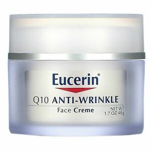 Eucerin, Q10 Anti-Wrinkle Face Creme (48g) Free Shipping World wide