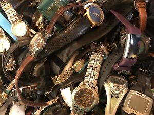 Watch Lot - Seiko Auto, Citizen, Timex, Disney, Agner & More-92 Watches +