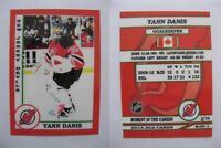 2015 SCA Yann Danis New Jersey Devils goalie never issued produced #d/10 rare