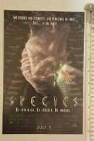 Species Movie RARE Print Advertisement