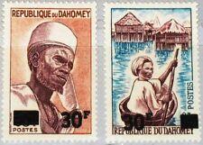 DAHOMEY 1967 304-05 232-33 Menschen People new currency ovp ÃœD MNH