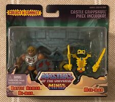 Battle Armor He-man and Mer-man Masters Of The Universe MOTU Minis w/ mailer box