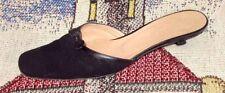 Kitten Patternless Formal Mules Heels for Women
