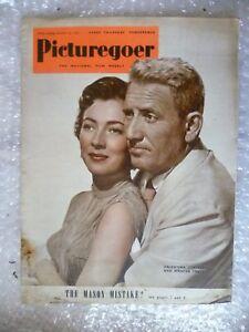 1950 PICTUREGOER Magazine- Valentina Cortesa, Spencer Tracy, 14 Jan