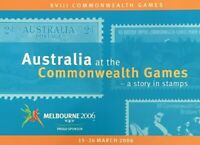 2006 Prestige Stamp Booklet 'Australia at the Commonwealth Games'  MNH