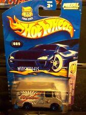 HOT WHEELS 2003 #89 -4 COMBAT AMBULANCE SLVR 5SP WHIT TAMP 03 CA