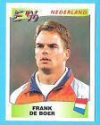 Panini Europa Europe 96 Football Sticker 1996 #81 Frank De Boer Holland Ex