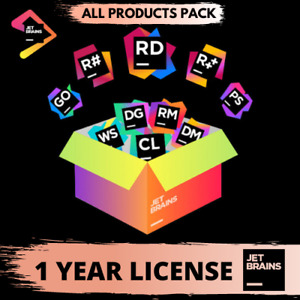 Intellij IDEA JetBrains Ultimate All Products Pack 1 Year Subscription