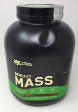 Optimum Nutrition Serious Mass Weight Gainer Protein Powder, Vitamin C, Zinc (BM