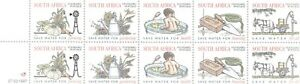 SOUTH AFRICA 1997 MINI-SHEET MNH WATER DAY