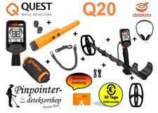 Metalldetektor Quest Q20 v2020 NEU OVP Schatzsuche Metallsonde Leitwertanzeige