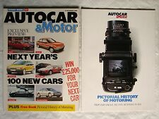 Autocar & Motor magazine 6 September 1989+ Pictorial history of motoring archive