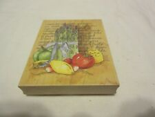 Stamps Happen Les Legumes 80191 Mildred Wyatt Vegetables Cooking Rubber Stamp