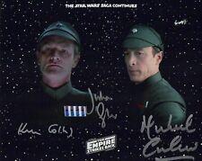 The Empire Strikes Back autographed 8x10 Photo COA