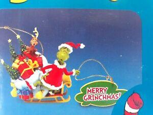 Vandor Dr. Seuss Merry Grinchmas Ornament