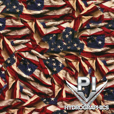 Hydrographics Dip Hydrographic Film Water Transfer Printing Respect Flag Ll739