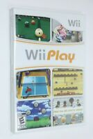 NINTENDO WII ** Wii PLAY ** BRAND NEW FACTORY SEALED GAME SHIPS SAME DAY