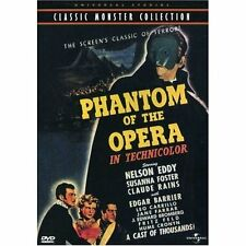 The Phantom Of The Opera (DVD,1943)