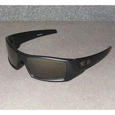 New Oakley Gascan Sunglasses Matte Black/Black Iridium POLARIZED USA Gas Can