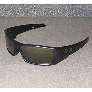 New Oakley Gascan Sunglasses Matte Black/Black Iridium POLARIZED USA Gas Can