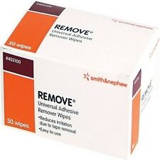 REMOVE WIPES UNIVERSAL ADHESIVE REMOVER SOLVENT WIPES BOX OF 50 WIPES