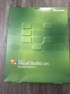 Microsoft Visual Studio 2005 Standard Edition - COMPLETE In Big Box - MINT COND