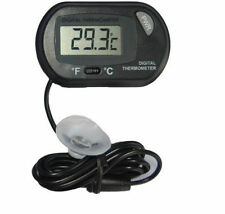 Digitales LCD Thermometer Aquarium Vivarium Wasser Probe suction