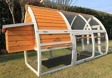 New Premium Outdoor Chicken Coop And Run / Poultry Hen Bird House With Nest Box