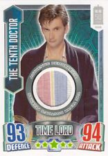 2013 Topps Doctor Who Alien Attax Trading Card Costume Card The 10th Doctor
