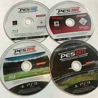 4 Pro Evolution Soccer Games  / Disc Bundle / Sony Playstation 3 PS3 2008 2009
