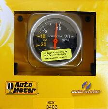 Auto Meter 3403 Ultra Lite Vacuum Boost Mechanical Gauge 2 5/8 30 In.Hg/ 30 PSI