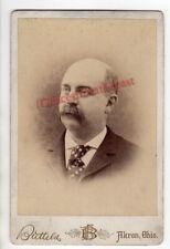Cabinet Photo of Charles H, Buss(1845-1911) Summit Co, Ohio. Greenlese Genealogy