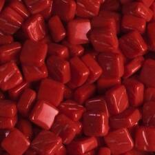 Glass Micro Mosaic Craft Tile - Bright Red