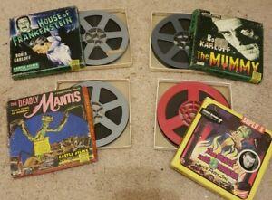 vintage SUPER 8MM horror movie lot Castle Ken Films MUMMY FRANKENSTEIN and more!