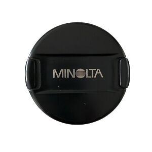Minolta LF-1162 62mm Front Lens Cap Snap On Camera Photography Made In Japan EUC