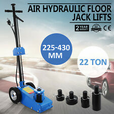 22TON SUPER LOW PROFILE LIFT FLOOR AIR HYDRAULIC TRUCK TROLLEY TOOLS JACK TOOL