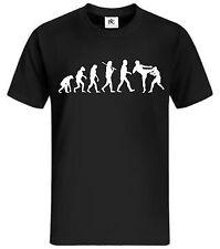 Evolution T-Shirt Ultimate Fighting ufc Muay Thai hardcore Fight Shirt Fun Shirt