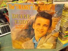 DUANE EDDY THE TWANG'S THE THANG LP VINILE 1983 WHITE VYNIL