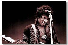 """Jimi Hendrix POSTER COPENHAGEN DENMARK 1970 Music Guitar Room Decor 13x20"""" 14"""