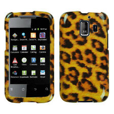 For Huawei AT&T Fusion 2 HARD Protector Case Snap On Phone Cover Leopard