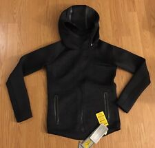 New Under Armour Women Xsmall Black Loose Hooded Jacket $200 Megzip!