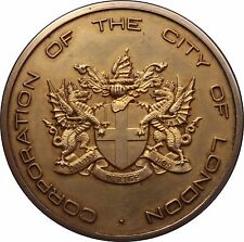 1973 New London Bridge Sterling silver medal