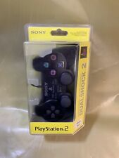 Original PlayStation 2 Controller Dualshock 2 Black neu und Sealed