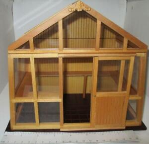 Empty Greenhouse Reutter 1.999/8 Conservatory Dollhouse Miniature