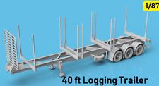 1/87 HO Scale Australian 40ft Logging Trailer Model KIT Herpa Wiking Promotex