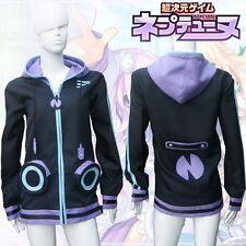 Hyperdimension Neptunia Neptune Purple Heart Otaku Cosplay Sweatshirt Hoodie